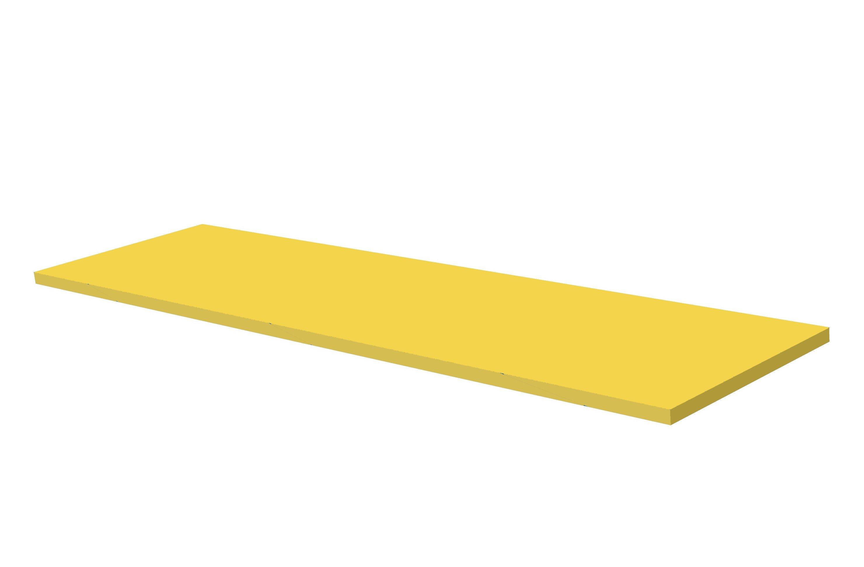 Yellow rubber sheet