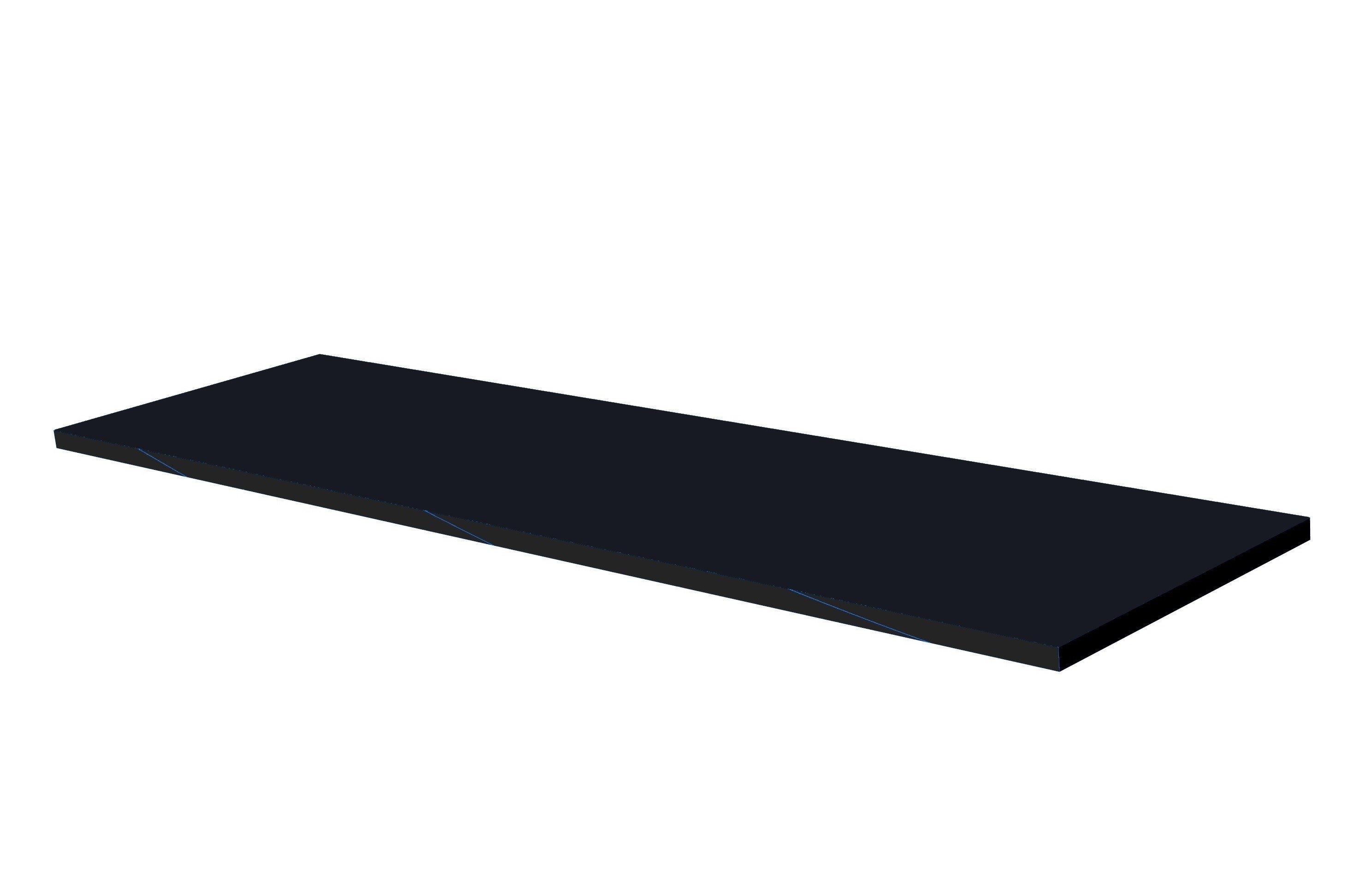 Dark rubber sheet